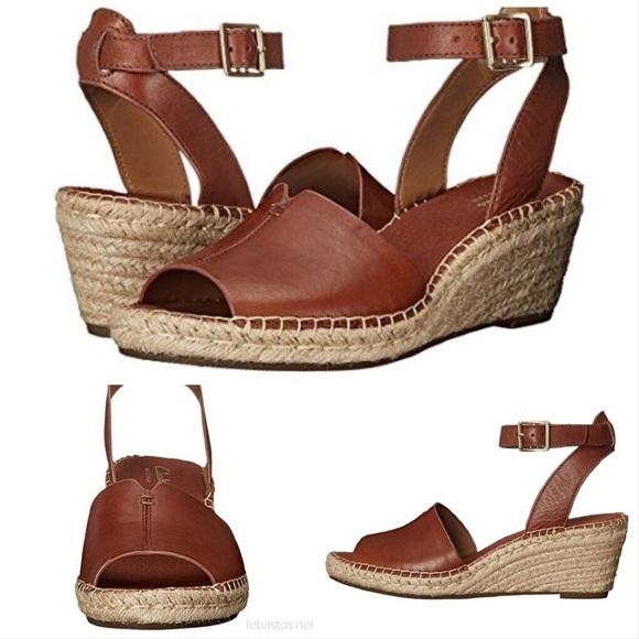 4c2dc4596cf Clarks Petrina Selma Wedge Ankle Strap Sandals 7.5 NWT